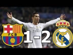 resumen real madrid vs barcelona barcelona vs real madrid 1 2 resumen goles 02 04 2016 yourepeat