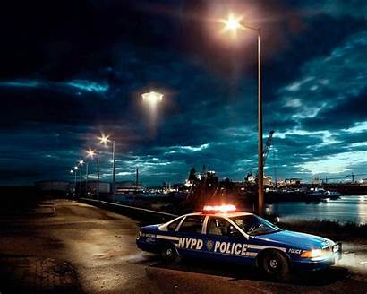 Law Enforcement Wallpapers Police Night American