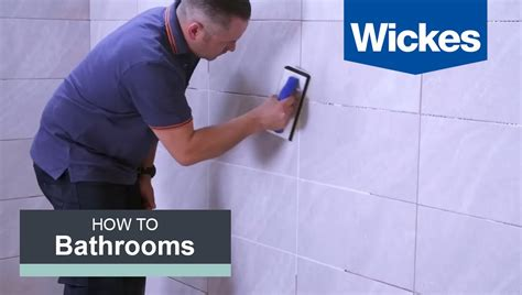 grout tiles  wickes youtube