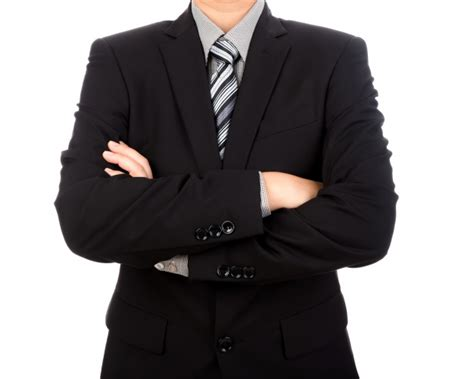 Stylish Businessman With Crossed Arms Photo