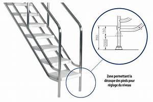 Escalier Ajustable En Hauteur : escalier inox ajustable acc s facilit et s curis la ~ Premium-room.com Idées de Décoration