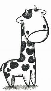 Giraffe Wallpaper Black and White - 2018 iPhone Wallpapers