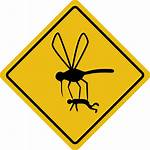 Hazard Sign Clipart Mosquito Library Clip