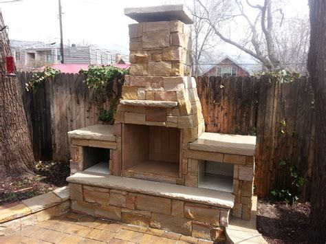 outdoor chimneys fireplaces outdoor fireplace with dual wood boxes