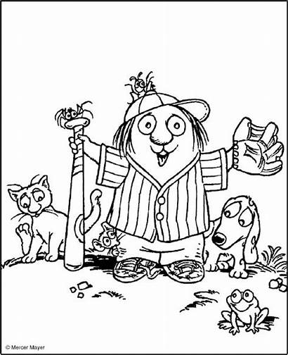 Critter Mayer Mercer Coloring Pages Library Books