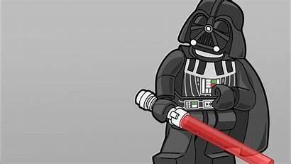 Lego Wars Star Vader Darth Legos Minimalistic