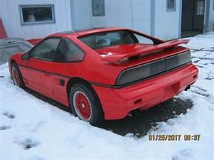 1987 Fiero Gt 2 8 5 Speed Red For Sale