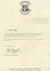 hogwarts acceptance letter template cyberuse With letter from hogwarts template
