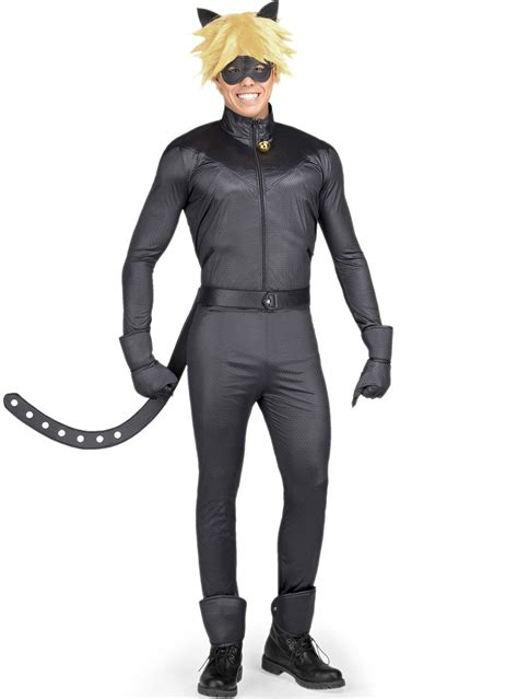 disfraz de cat noir las aventuras de ladybug  adulto