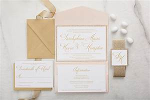 sarahphina suite glitter wedding invitation all that With all in one wedding invitations reviews