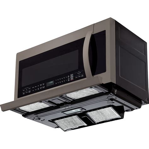 microwave over stove lmhm2237bd lg 2 2 cu ft over the range microwave oven