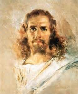 Howard Chandler Christy Print of Jesus