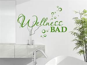 Wandtattoo Bad Günstig : wellness wandtattoo wellness bad von ~ Markanthonyermac.com Haus und Dekorationen