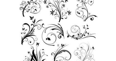 highly detailed  floral vector packs templates