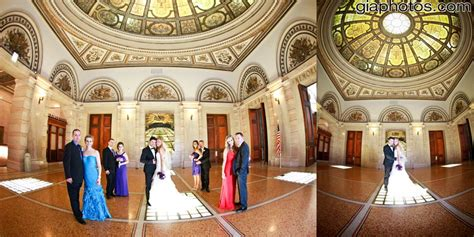 Marius And Delia's Wedding Photos At Chicago Cultural