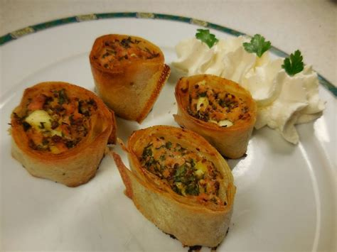 cuisine facile com cuisine facile com croustillants de saumon fumé aux herbes