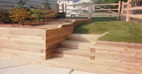 timber retaining wall design stunning decoration retaining walls maryland landshaftnoe