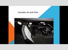 Volvo S40 en V40 Interieurfilter vervangen Pollenfilter