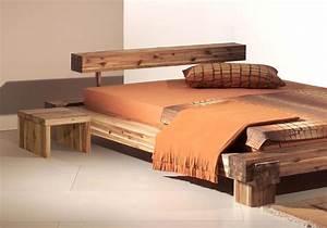 Lit Bois Massif Design : lit en bois massif vente de lits design en bois dormissima ~ Teatrodelosmanantiales.com Idées de Décoration