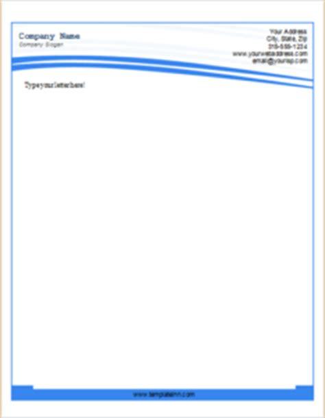 editable letterhead templates  ms word templateinn