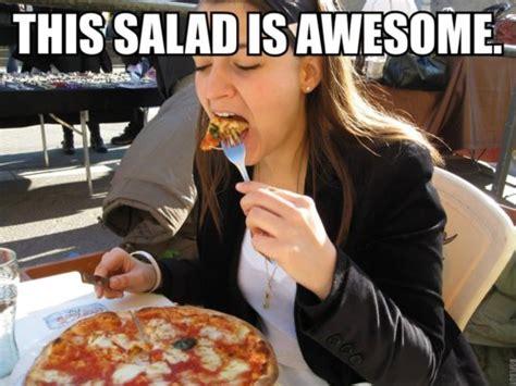 Salad Meme - image 202228 pizza is a vegetable know your meme
