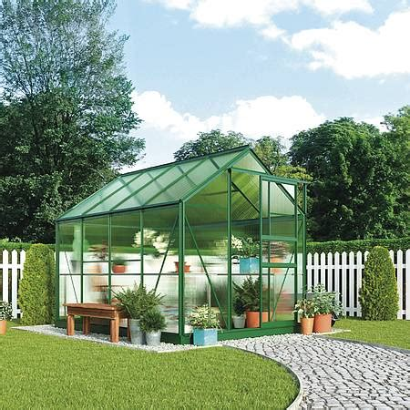 Waltons Nursery by Waltons 6 X 4ft Greenhouse Green Waltons Sheds