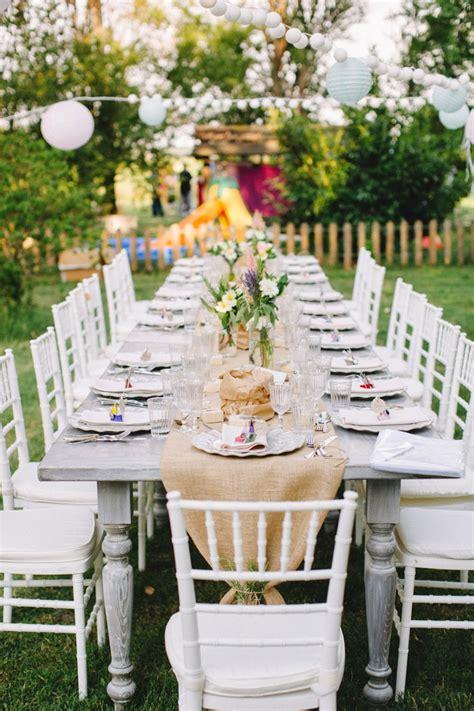 Décoration Table Mariage Rectangulaire Champêtre Ou Vintage