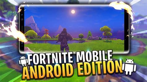fortnite mobile android release vlogger faire