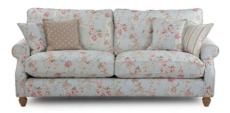 grand floral sofa country style shabby chic