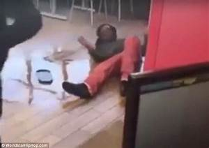 McDonald's EMPLOYEE goes crazy and beats up a guy | Daily ...