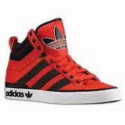 adidas Originals Top Court Hi     Vivid Red   Eastbay Blog  Adidas Shoes High Tops Red