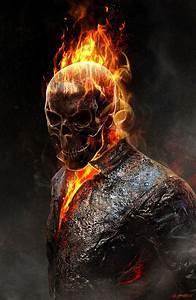 Image - Ghost Rider+Concept Art by Jerad S Marantz 01a.jpg ...