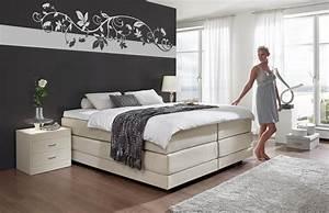Tapeten Modern Schlafzimmer : schlafzimmer mit boxspringbett einrichten deutsche dekor 2017 online kaufen ~ Markanthonyermac.com Haus und Dekorationen