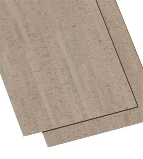 Cork Floor Tiles   Gray Bamboo 6mm 22sq.ft per package