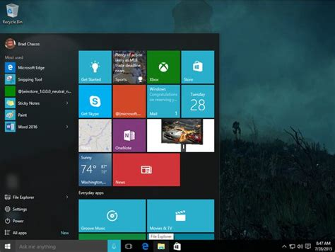 How To Customize The Left Side Of The Windows 10 Start