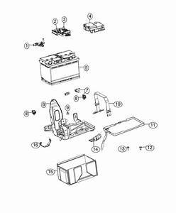 2015 Jeep Renegade Cover  Fuseblock   Bc3   Battery