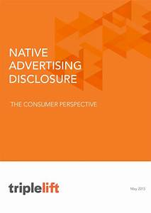 The State of Native Advertising Disclosure: The Consumer View