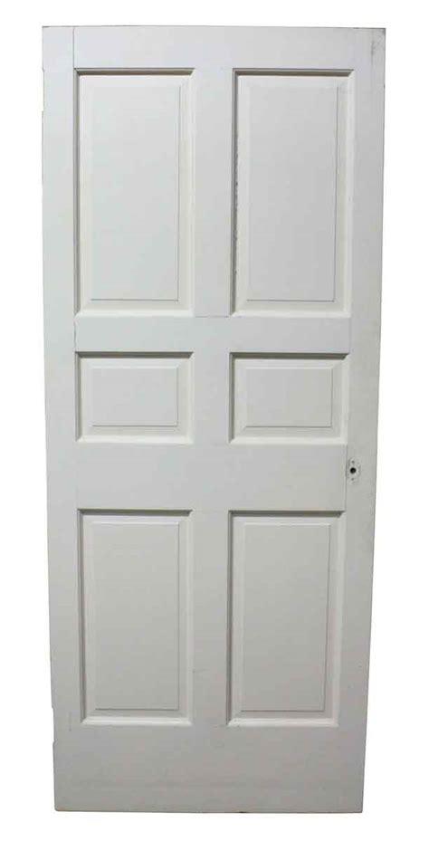 Six Panel Interior White Door  Olde Good Things