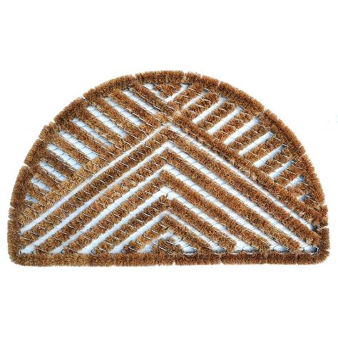 Fiber Doormat by Outdoor Coconut Fiber Semi Circle Triangle Door Mat 2 6 X