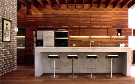 Design Trend  Brick & Wood  The Joinery