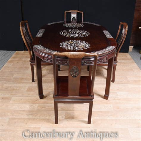 antique dining table antique dining set table and chairs of 4882