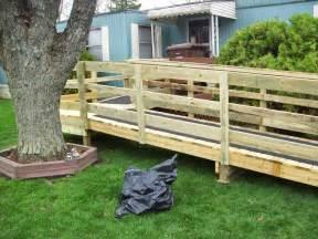Build Temporary Wheelchair Ramp