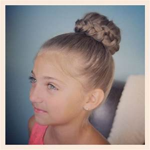 Cute Bun Hairstyles For Short Hair Hair Style And Color