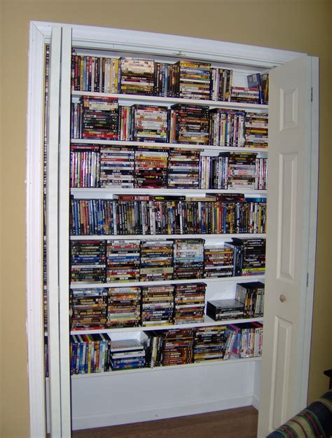 Dvd Closet Storage by We Turned An Bar That Was In Our Den Into A