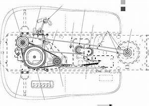 Murray Lawn Mower Belt Diagram 46 Inch