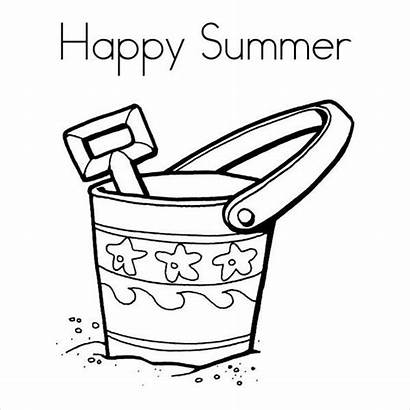 Coloring Summer Pages Printable Pdf Cool Templates
