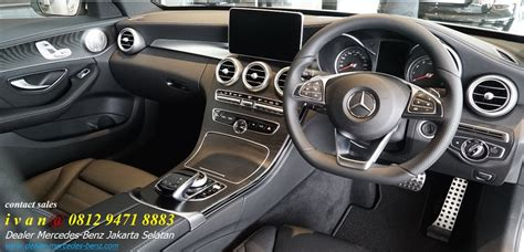 Then browse inventory or schedule a test drive. Interior Mercedes-Benz-C300-AMG Line 2017 Indonesia | Dealer Mercedes Benz Jakarta