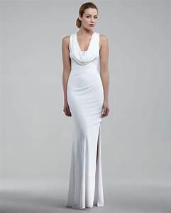david meister cowl neck gown 150 wedding dresses you can With cowl neck wedding dress