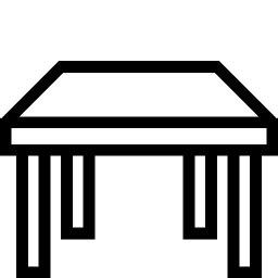Household Table Icon   iOS 7 Iconset   Icons8