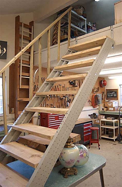Garage Stair Stringers By Faststairs